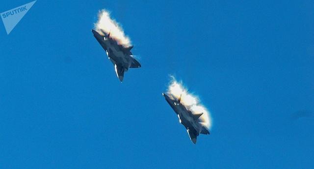 Máy bay Su-57 của Nga (Ảnh: Sputnik)