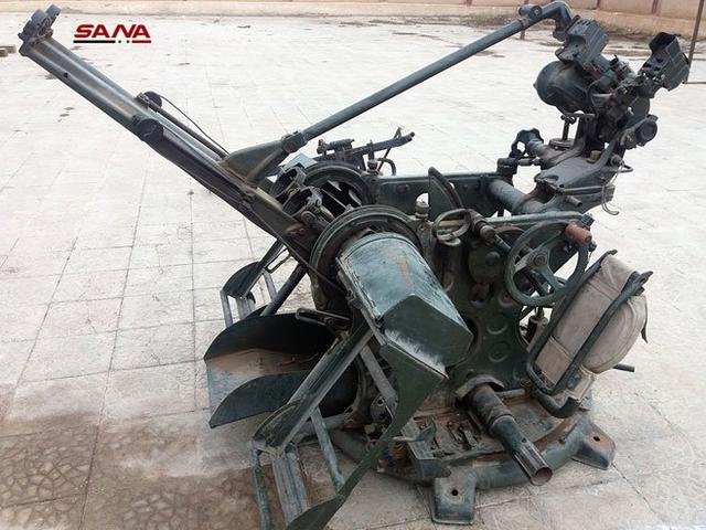 Syria thu giữ nhiều kho vũ khí của Mỹ tại nơi phiến quân vừa rút - 3