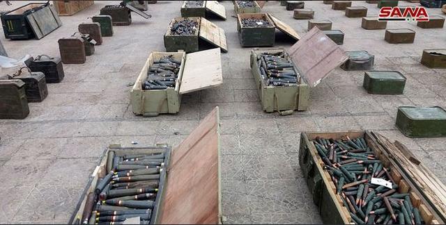 Syria thu giữ nhiều kho vũ khí của Mỹ tại nơi phiến quân vừa rút - 5