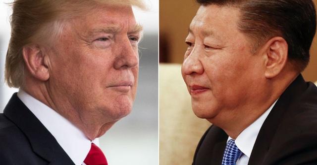 Tổng thống Mỹ Donald Trump và Chủ tịch Trung Quốc Tập Cận Bình (Ảnh: Getty)