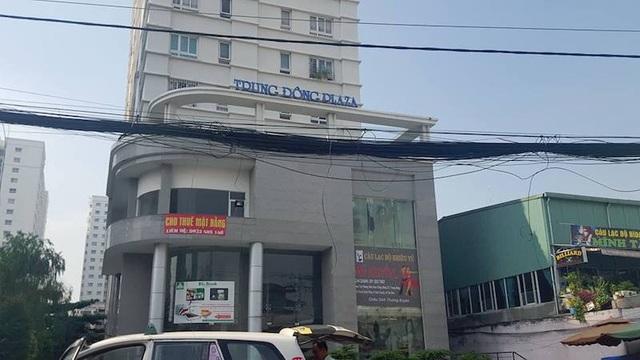 Chung cư Trung Đông Plaza tọa tại số 30 Trịnh Đình Thảo, phường Hòa Thạnh, quận Tân Phú, TP HCM