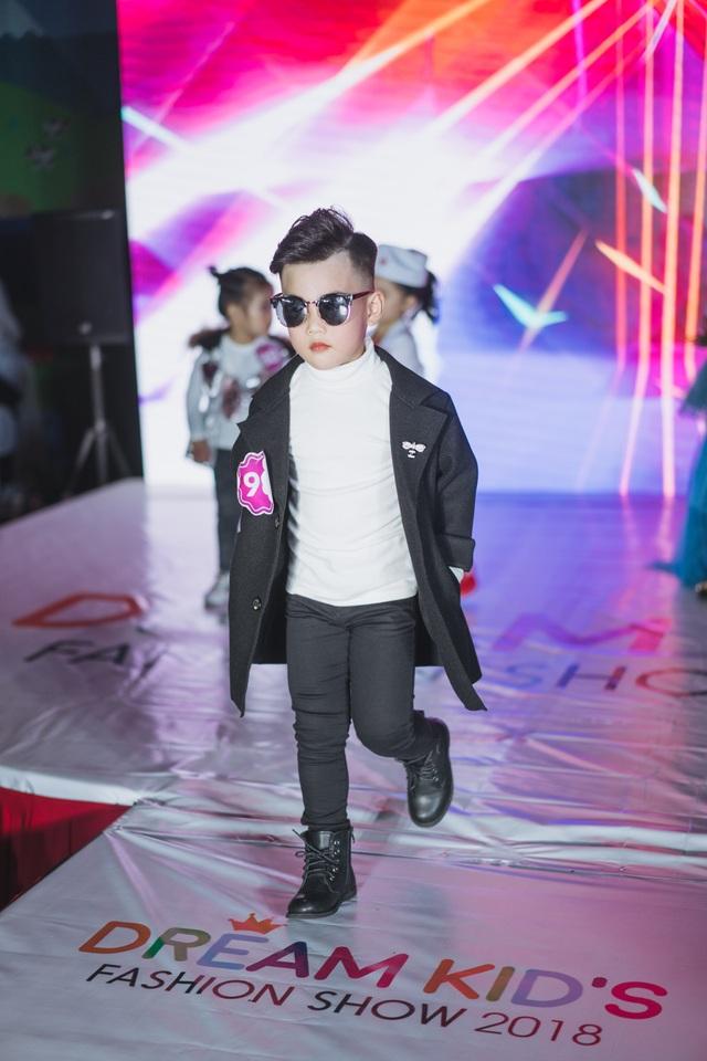 Sự tự tin là điều có thể nhìn rõ nhất của Top 25 DreamKid's Fashion Show 2018