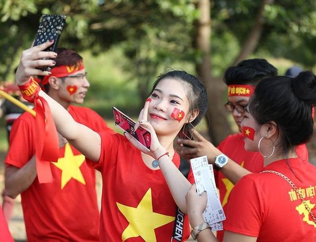 Người hâm mộ tin tưởng vào chiến thắng trước Lào