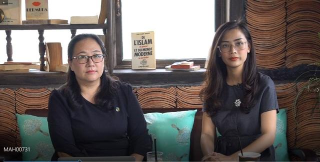 Luật sư Lê Ngọc Lam Điền trao đổi cùng chương trình 3 phút cùng luật sư