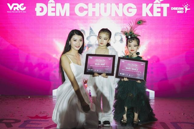 Đinh Phương Mỹ Duyên – Người đẹp tài năng, Top 15 Hoa hậu Việt Nam 2018 là một trong 03 vị giám khảo của DreamKid's Fashion Show 2018