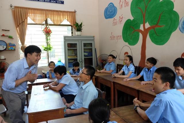Một giờ dạy của thầy Nguyễn Xuân Việt.