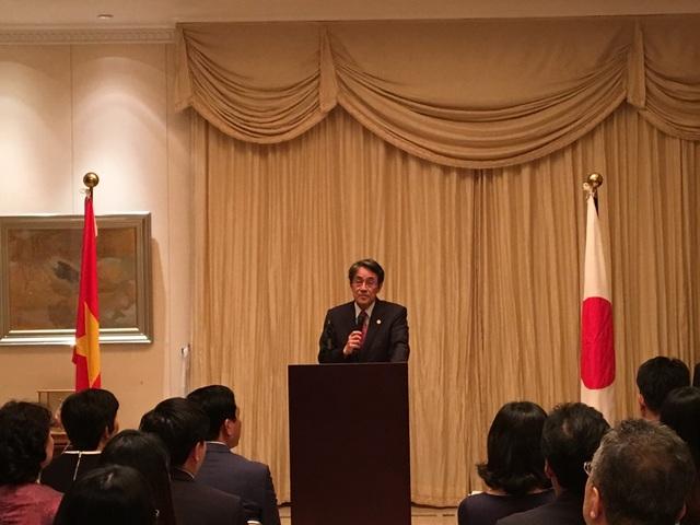 Đại sứ Nhật Bản tại Việt Nam Umeda Kunio (Ảnh: Đức Hoàng)