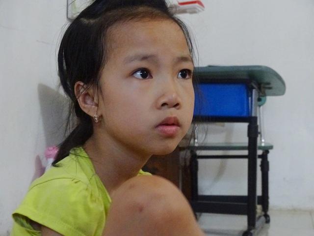 Linh cho biết, ước mơ của cô sau này là trở thành cô giáo dạy mỹ thuật