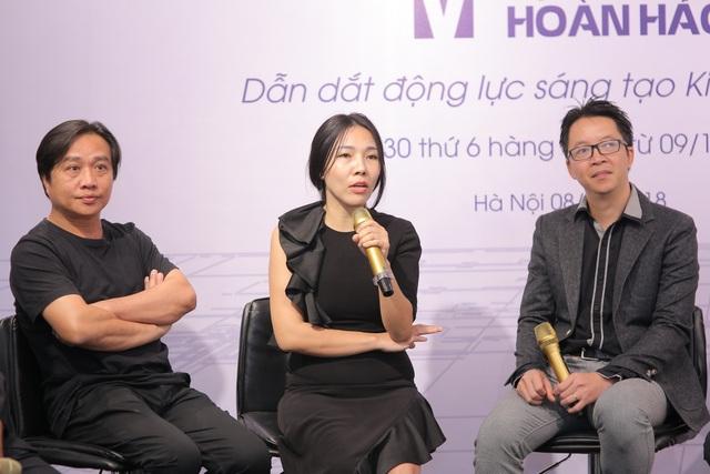 3 kiến trúc sư đóng vai trò cầm trịch của chương trình.