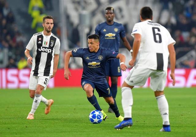 Sanchez tạo áp lực tốt cho hàng thủ của Juventus