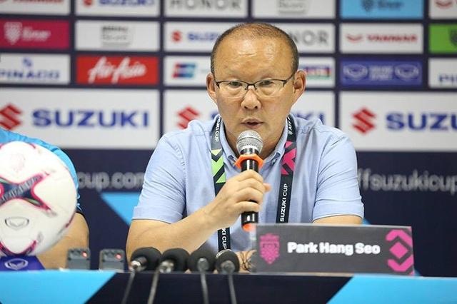 HLV Park Hang Seo hài lòng sau chiến thắng trước Lào