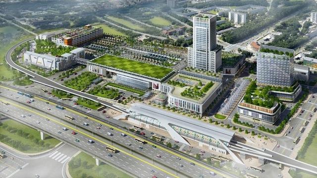 Nhiều dự án hạ tầng trọng điểm tạo nên lợi thế cho khu Đông