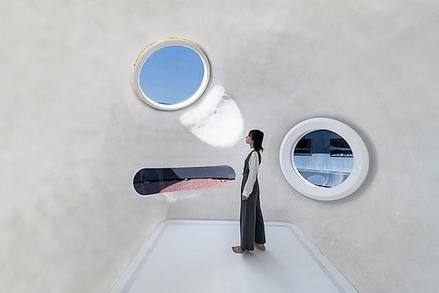 """Không gian sống trong """"bong bóng"""" khá nhỏ bé nhưng được tích hợp những công nghệ tối tân."""