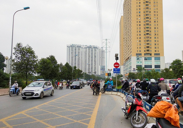 Được biết, cung đường này có điểm quay đầu phương tiện, nhưng nhiều người vô ý thức đã cố tình vi phạm để tiết kiệm quãng đường đi.