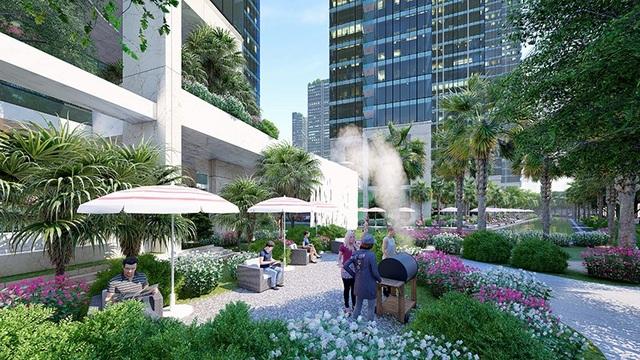 Tại Sunshine City Sài Gòn, Sunshine Group dành nhiều tâm huyết xây dựng cho cư dân một không gian sống trong lành, gần gũi với thiên nhiên