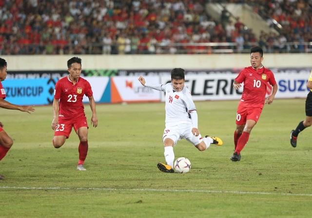 Quang Hải ngày càng thăng tiến trong sắc áo đội tuyển Việt Nam (ảnh: Huyền Trang)