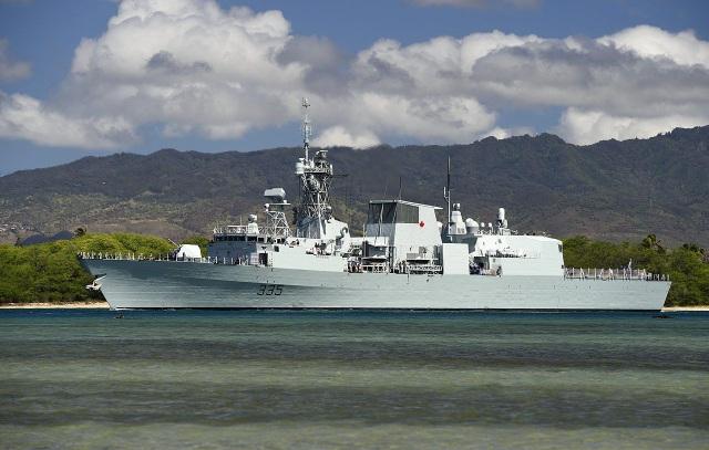 Tàu HMCS Calgary (Ảnh: Wikipedia)