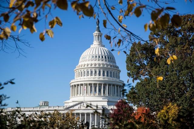 Sau bầu cử giữa kỳ, đảng Cộng hòa tiếp tục kiểm soát Thượng viện trong khi đảng Dân chủ kiểm soát Hạ viện. (Ảnh: New York Times)