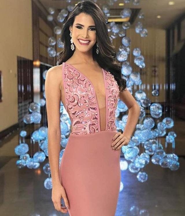 Mariem Velazco vừa được xướng tên cùng ngôi vị hoa hậu quốc tế 2018