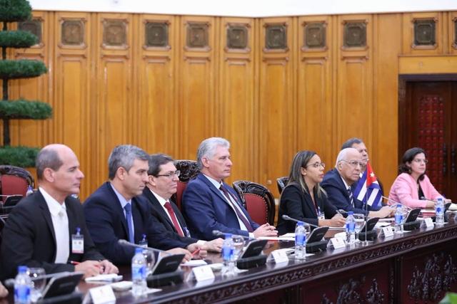 Lãnh đạo Việt Nam - Cuba nhất trí triển khai hiệu quả hiệp định thương mại mới, tăng gấp đôi kim ngạch thương mại trong vòng 4 năm tới
