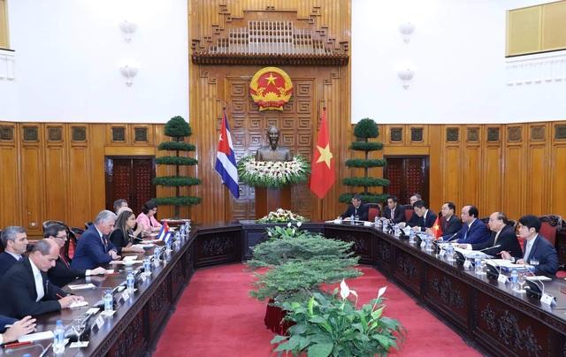 Cuộc hội kiến giữa lãnh đạo hai nước