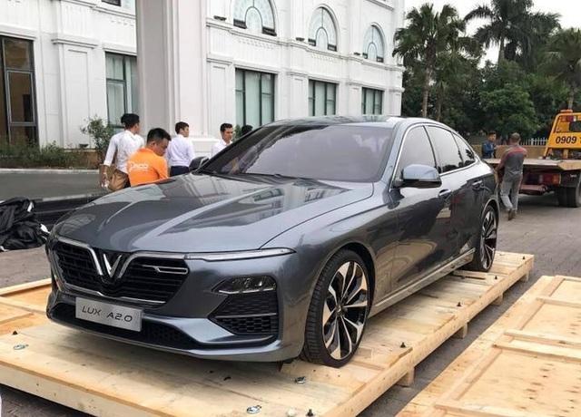Ôtô VinFast chuẩn bị ra mắt người dân trong nước - 2