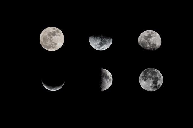 Bạn biết gì về pha của Mặt Trăng? - 1