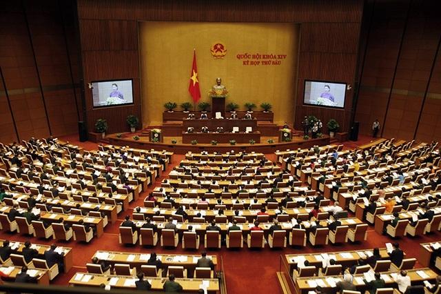 Quốc hội thông qua dự toán ngân sách năm 2019.