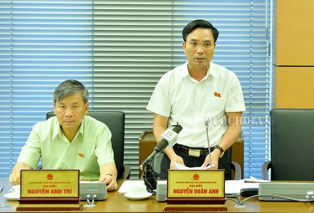 Thiếu tướng Nguyễn Doãn Anh là đại biểu Quốc hội TP Hà Nội khóa XIV