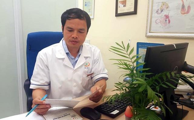 BS Nguyễn Bá Hưng - Trưởng khoa Nam học, bệnh viện Nam học & Hiếm muộn Hà Nội.