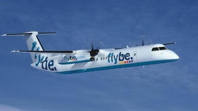 Một chiếc máy bay của hãng hàng không Flybe. Ảnh: PA