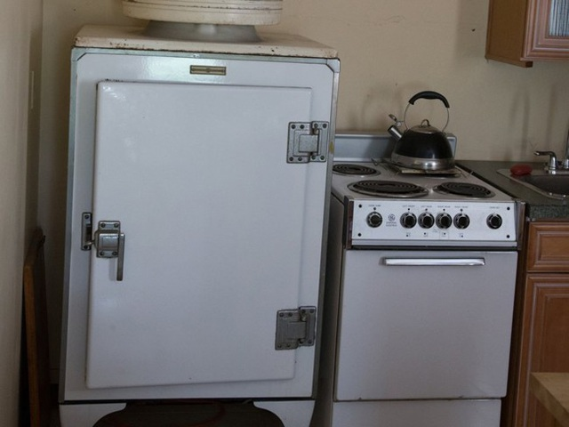 Nội thất trong bếp vẫn giữ nguyên từ thế kỷ 19.