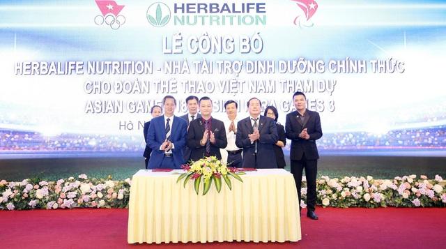 Herbalife Nutrition –Nhà tài trợ dinh dưỡng chính thức cho đoàn thể thao Việt Nam tham dự Asian Para Games 3 và ASIAD 18
