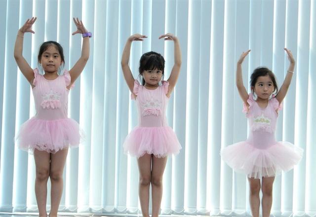 CLB múa nâng cao dành cho các bé có năng khiếu.