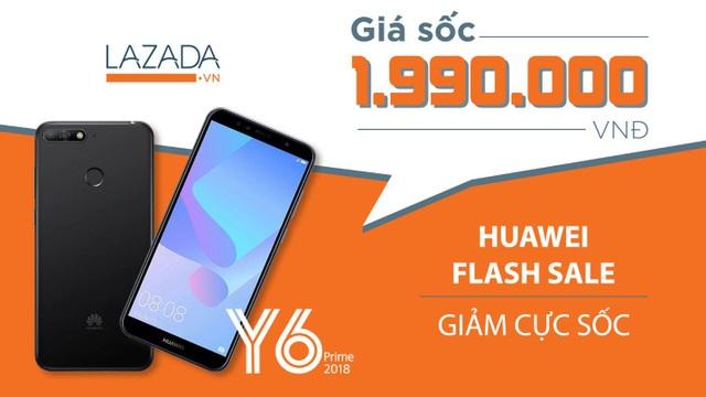 Y6 Prime – Điện thoại chất của Huawei đang Flash Sale - 7