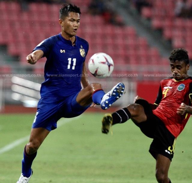 """Timor Leste 0-7 Thái Lan: Chân sút số 1 Thái Lan quá """"khủng"""" - 4"""