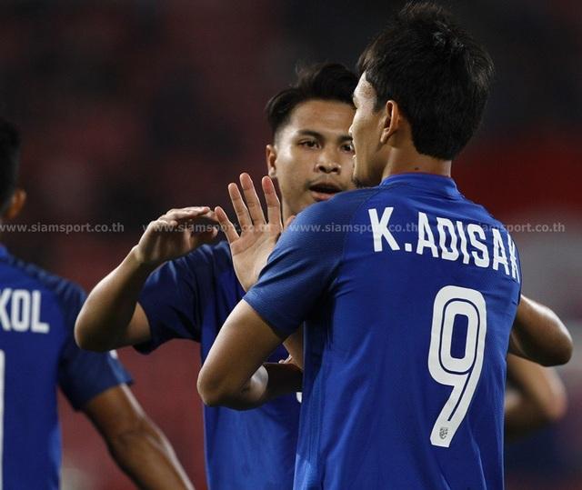 """Timor Leste 0-7 Thái Lan: Chân sút số 1 Thái Lan quá """"khủng"""" - 5"""