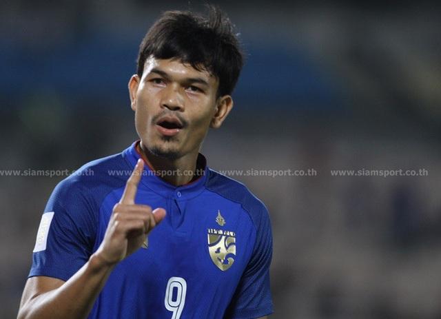 """Timor Leste 0-7 Thái Lan: Chân sút số 1 Thái Lan quá """"khủng"""" - 6"""