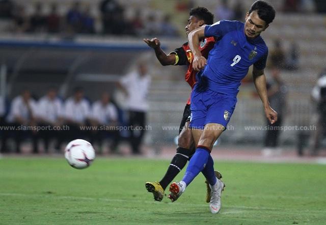 """Timor Leste 0-7 Thái Lan: Chân sút số 1 Thái Lan quá """"khủng"""" - 7"""