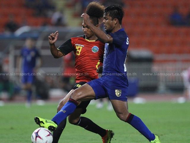 """Timor Leste 0-7 Thái Lan: Chân sút số 1 Thái Lan quá """"khủng"""" - 2"""