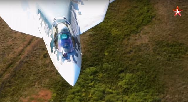 Máy bay chiến đấu Su-57 (Ảnh: Zvezda)