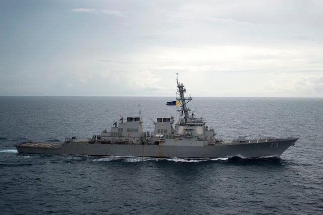 Tàu khu trục USS Decatur của Mỹ. (Ảnh: Hải quân Mỹ)