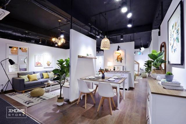 (Không gian phòng khách và Phòng ăn của Sunrise Collection)