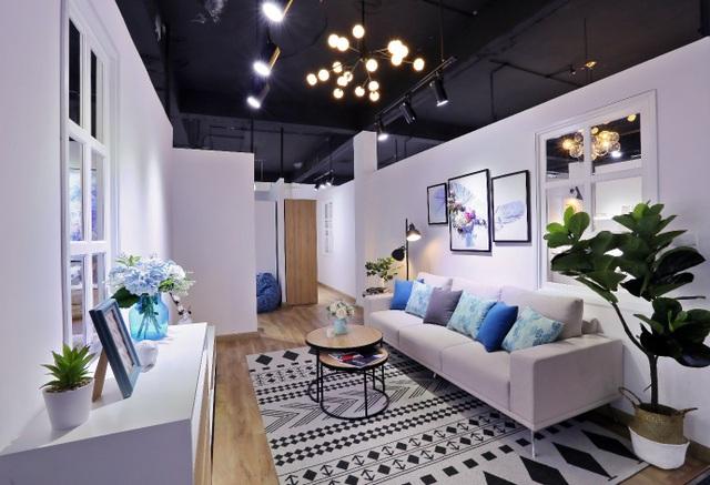 Không gian phòng khách của Windy Collection)