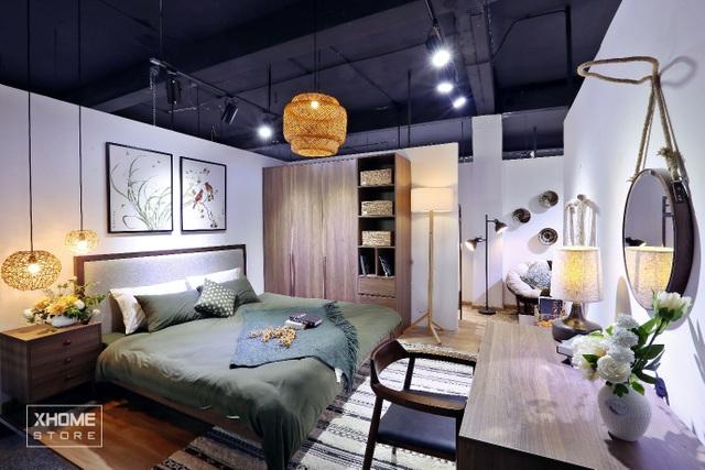 (Không gian phòng ngủ master của Rustic Collection)