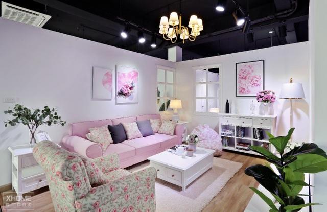 (Không gian phòng khách của Floral Collection)