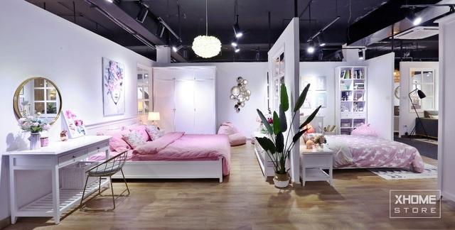 (Không gian phòng ngủ của Floral Collection)