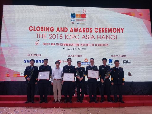 Đội tuyển lập trình sinh viên quốc tế ACM/ICPC của Học viện Hải quân Nha Trang