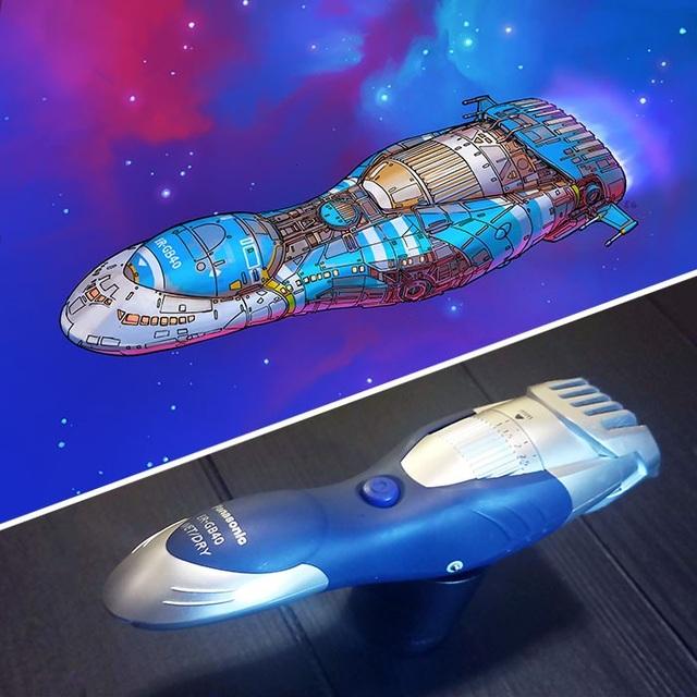 """Độc đáo với chùm ảnh """"hô biến"""" mọi đồ vật xung quanh thành tàu vũ trụ - 9"""