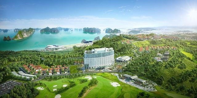 FLC Grand Hotel Halong có tầm nhìn ôm trọn vịnh Hạ Long